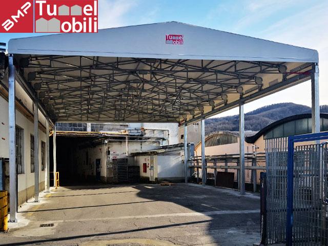 coperture industriali tunnel mobili