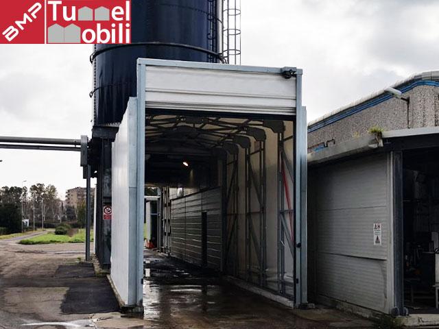 capannone tunnel mobili esterno