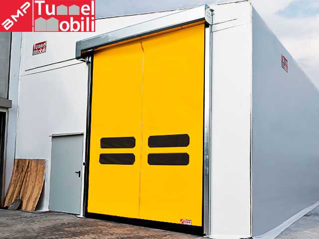 chiusure industriali avvolgibili per capannoni