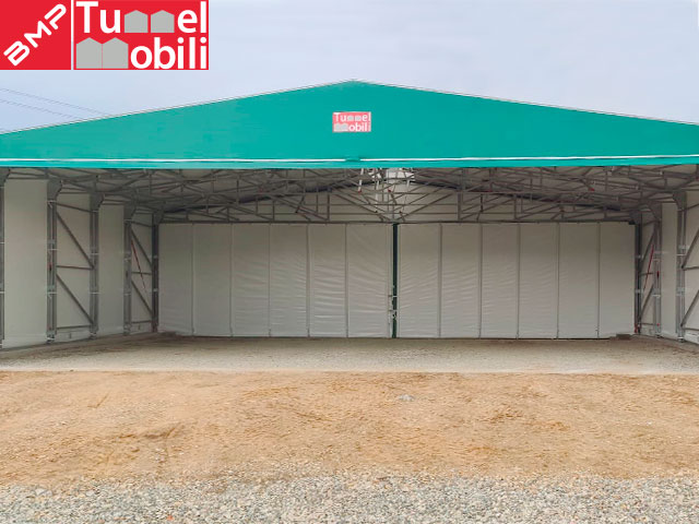 copertura retrattile Tunnel Mobile