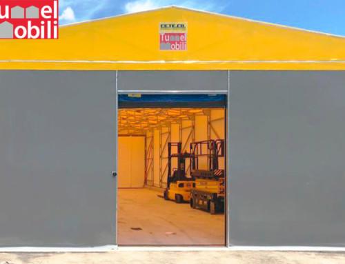 Tunnel in pvc per ampliare gli spazi coperti di Starshop