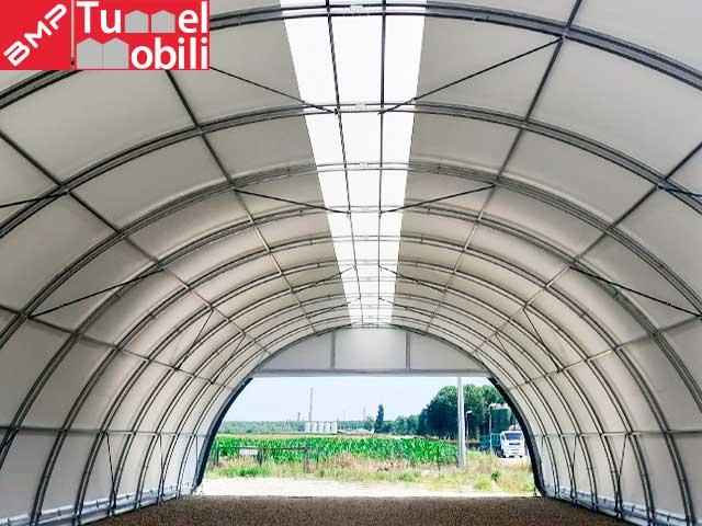 tunnel pvc pavia
