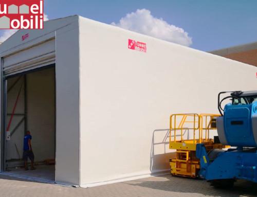 Capannone pvc per migliorare le operazioni logistiche aziendali