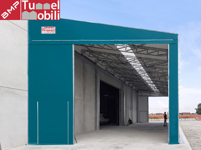 tunnel retrattile legno