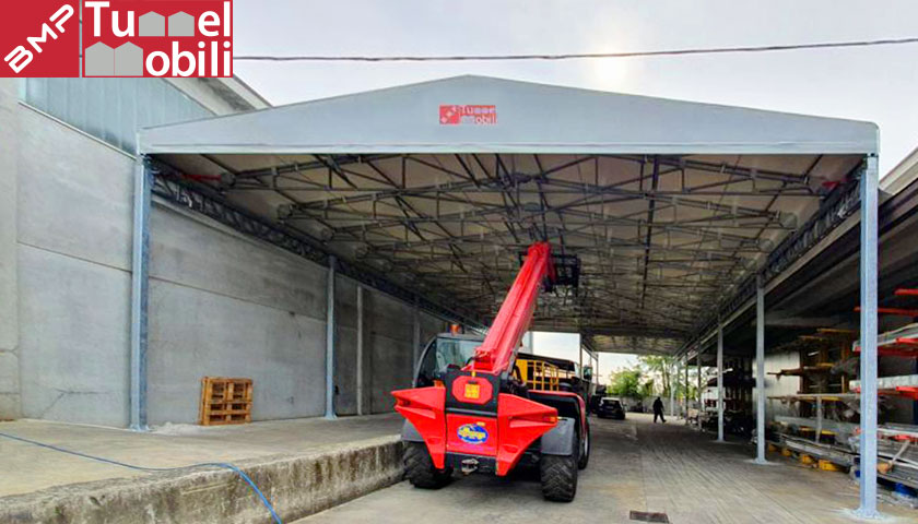 coperture - pvc- Tunnel Mobili