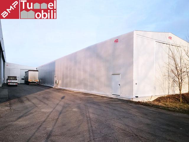 Tunnel in pvc per Manghi