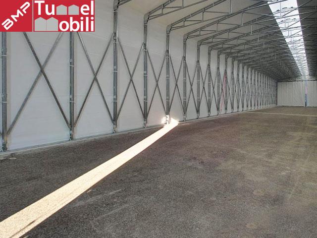 Tunnel retrattile interno