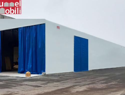 Un nuovo tunnel in pvc per Iemme S.r.l. realizzato da Tunnel Mobili