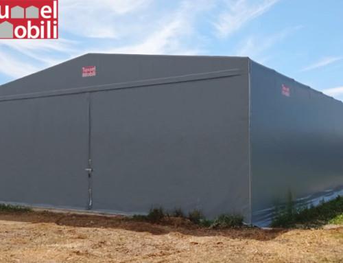 Ampliare gli spazi dell'industria agricola con i capannoni in pvc