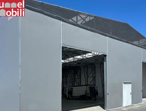 È possibile prolungare i capannoni in pvc dopo la loro installazione?
